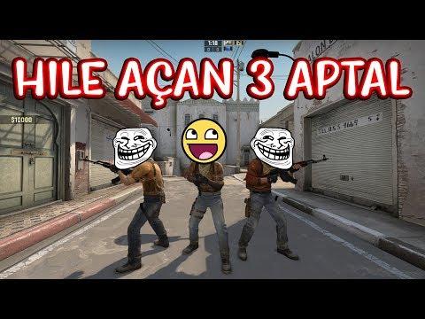 3 NOOB AİMHACK VS 1 PRO WALL HACK!! (CS:GO)