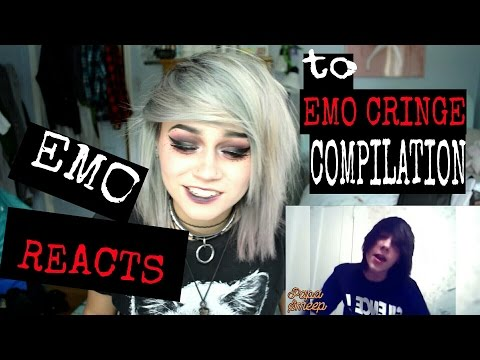 EMO REACTS TO EMO CRINGE COMPILATION   Kylie The Jellyfish