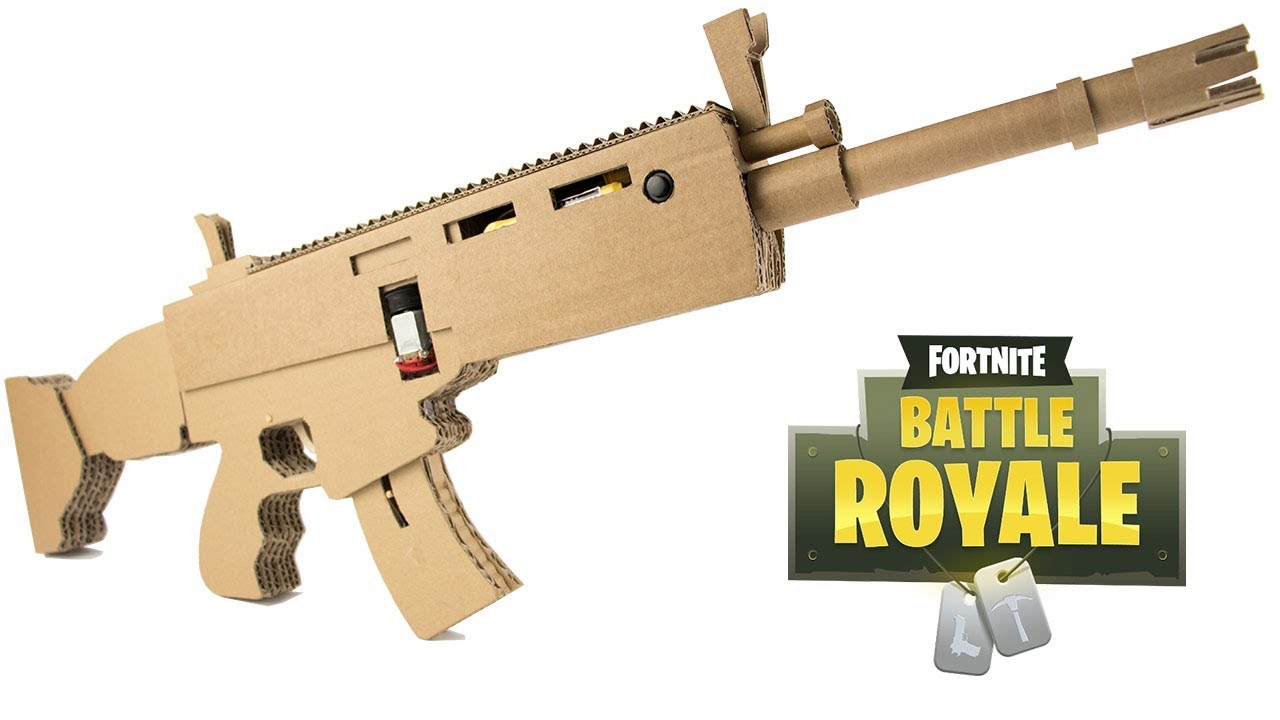 How To Make Fortnite Scar Cardboard