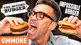 IMPOSSIBLE VS. BEYOND BURGER Taste Test