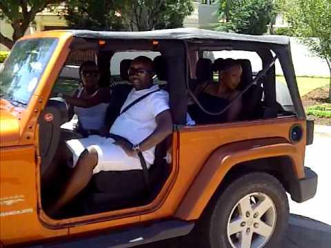 Driving The Jeep Wrangler Sahara With No Doors Youtube