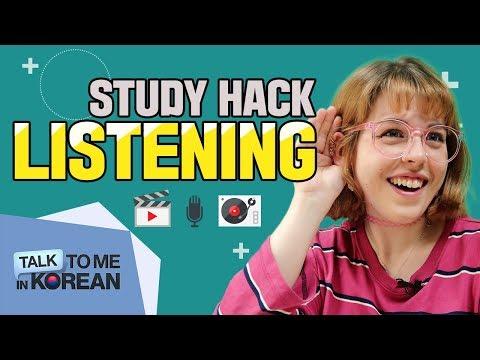Korean Study Hacks - 3 Ways To Improve Your Listening Skills