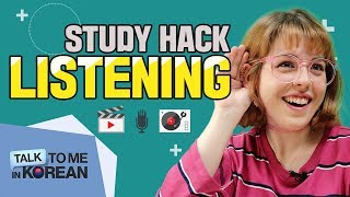 3 Ways To Improve Your Listening Skills (Korean Study Hacks)
