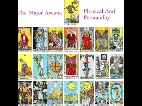 Major Arcana  (Physical Appearance and Personality) The Fool - The Wheel Of Fortune