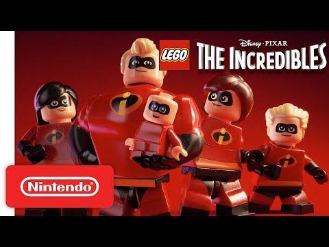 Disney PIXAR: LEGO The Incredibles Announcement Trailer - Nintendo Switch