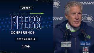 Head Coach Pete Carroll Postgame Press Conference vs Ravens | 2019 Seattle Seahawks
