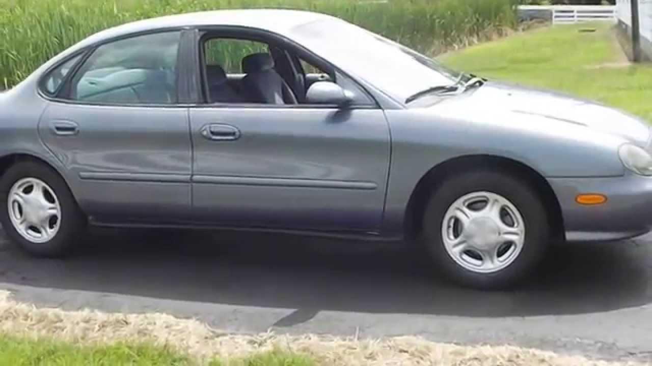1999 Ford Taurus Se 64k Miles Light Blue Sharp