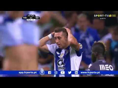 FC Porto-Vitória Guimarães, 2-3 (resumo)