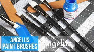 paint brushes for shoes