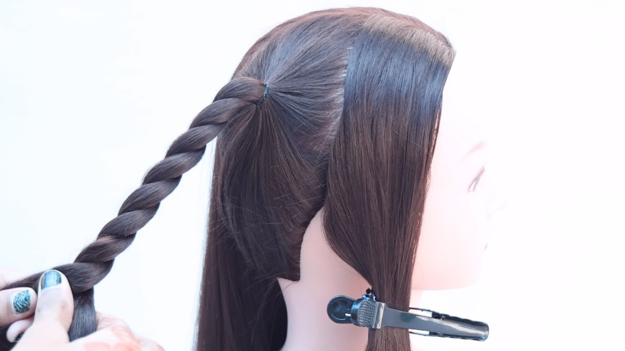 3 fancy hairstyle for outgoing | pretty hairstyle | hair style girl | cute hairstyle | hairstyle