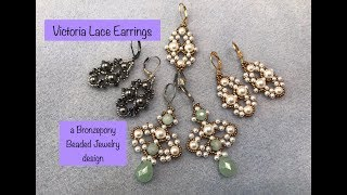 Victoria Lace Earrings