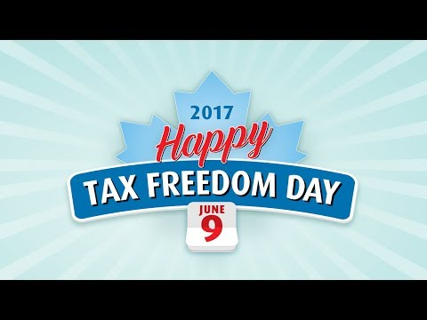 Fraser Institute: Happy Tax Freedom Day 2017