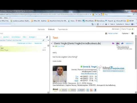 Office 365...Kommunikation mit Exchange Online.wmv