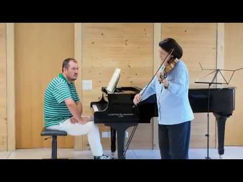 Adelina Oprean unterrichtet Mozart