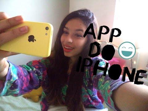 Meus Aplicativos do iPhone 5c