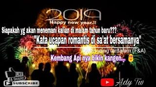 Gambar cover Story💏 WA menanti malem Tahun Baru 2019 #cover lagu Yg Terdalam