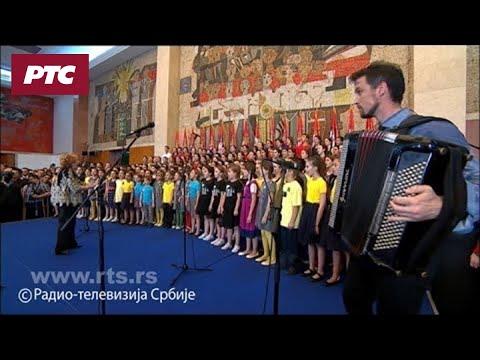 """""""Ovo je Srbija"""" na svečanom prijemu predsednika Republike Srbije Aleksandra Vučića"""