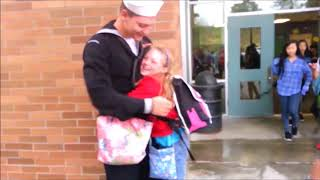 Video Big Brother Surprises Sister (Home from the Navy) download MP3, 3GP, MP4, WEBM, AVI, FLV Mei 2018