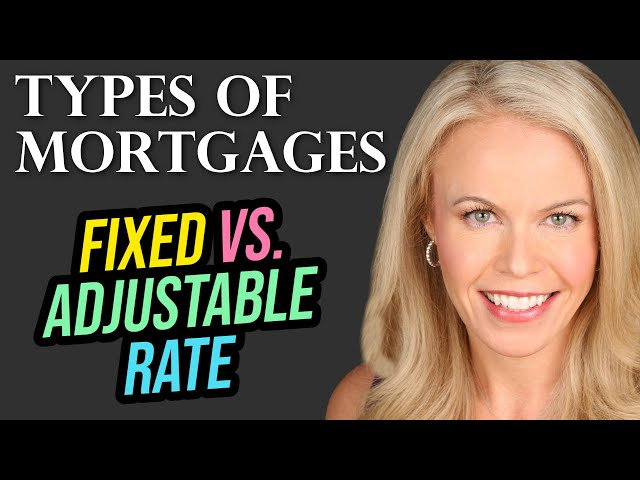 Fixed Rate Vs Adjustable Rate Mortgage