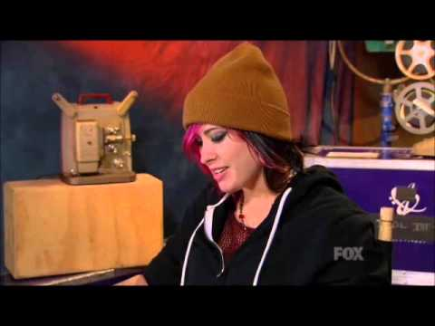 Jessica Meuse Imitates Idols and Judges!