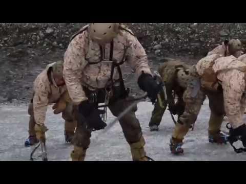 Marines Sharpen Mountaineering Skills In Alaska