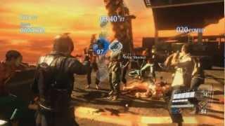 Resident Evil 6 - PC Version - Mercenaries No Mercy Gameplay