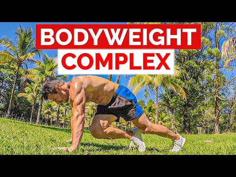 10 Min Bodyweight Complex | Advanced HIIT Workout Without Weights