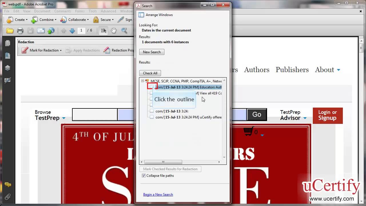 Adobe Acrobat 9 Professional How To Remove Sensitivermation Using Redaction  Tools Demo