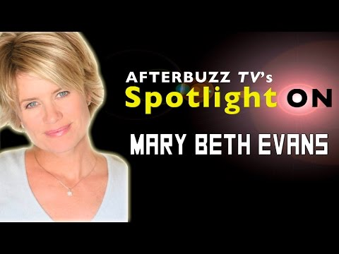 Mary Beth Evans   AfterBuzz TV's Spotlight On