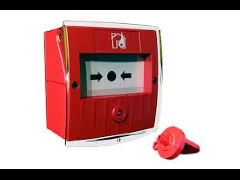 Pulsador de alarma contra incendio thumbnail