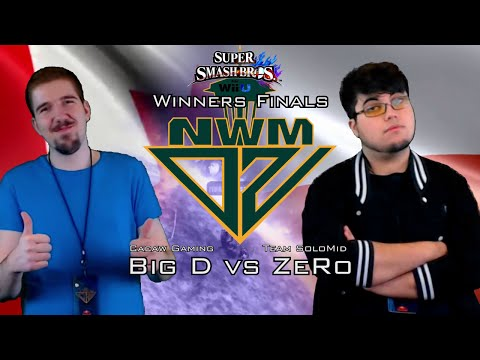 #NWMDZ #SSBWiiU WF - CACAW Big D (DDD-BOW-MAR) vs TSM ZeRo (SHE)
