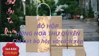 Bộ hộp Bánh Trung Thu - Hồng Hoa Thu Quyến