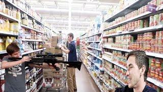 Scaring Walmart Employees
