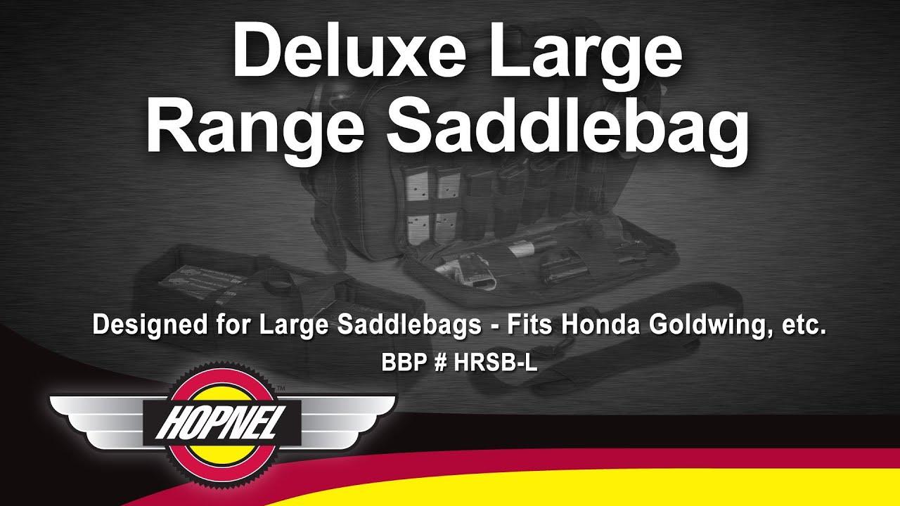 PADDED SADDLEBAG - LARGE - Big Bike Parts