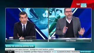 20.12.2017 - SPOR MANŞET - Cem Dizdar Serkan Yetkin