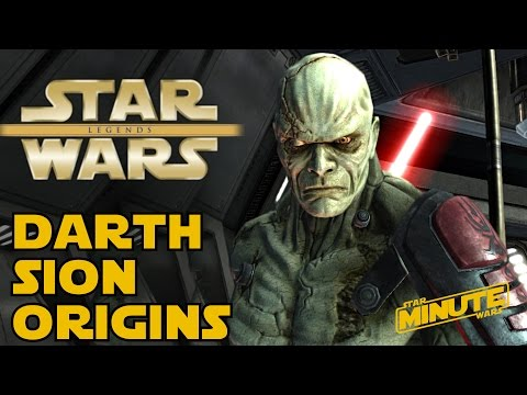 The Legend Of Darth Sion - Star Wars Explained