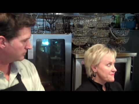 Razor Clam Cleaning - How to clean razor clams with Kathy Casey and Scott Surdyke