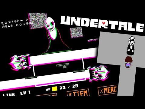 BATTLING UNDERTALE'S 'SECRET' BOSS!! An Undertale Fun Value 66 Gaster Room 269 Fan Battle