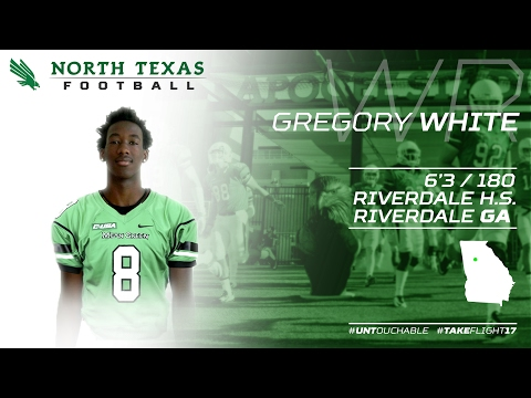 2017 National Signing Day: North Texas Welcomes Greg White