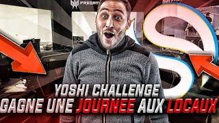 YOSHI CHALLENGE : GAGNE 1 JOURNÉE AU LOCAUX DE SOLARY