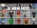 Minecraft XMEN SUPERHERO MOD / FIGHT WOLVERINE AND TRANSFORM IN TO YOUR SUPERHERO!! Minecraft
