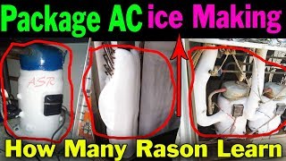 Gambar cover AC compressor suction pipe cooling coil full ice buildup learn tips tricks repair learn Hindi me ASR