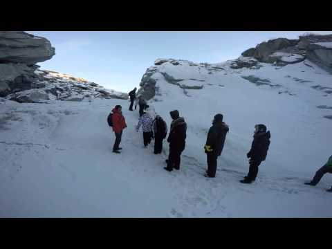 Walk the waterfall - Greenland 7 Feb 16