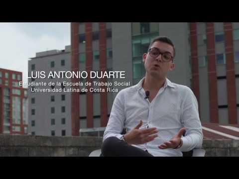 Luis Duarte - Estudiante de Trabajo Social Universidad Latina de Costa Rica