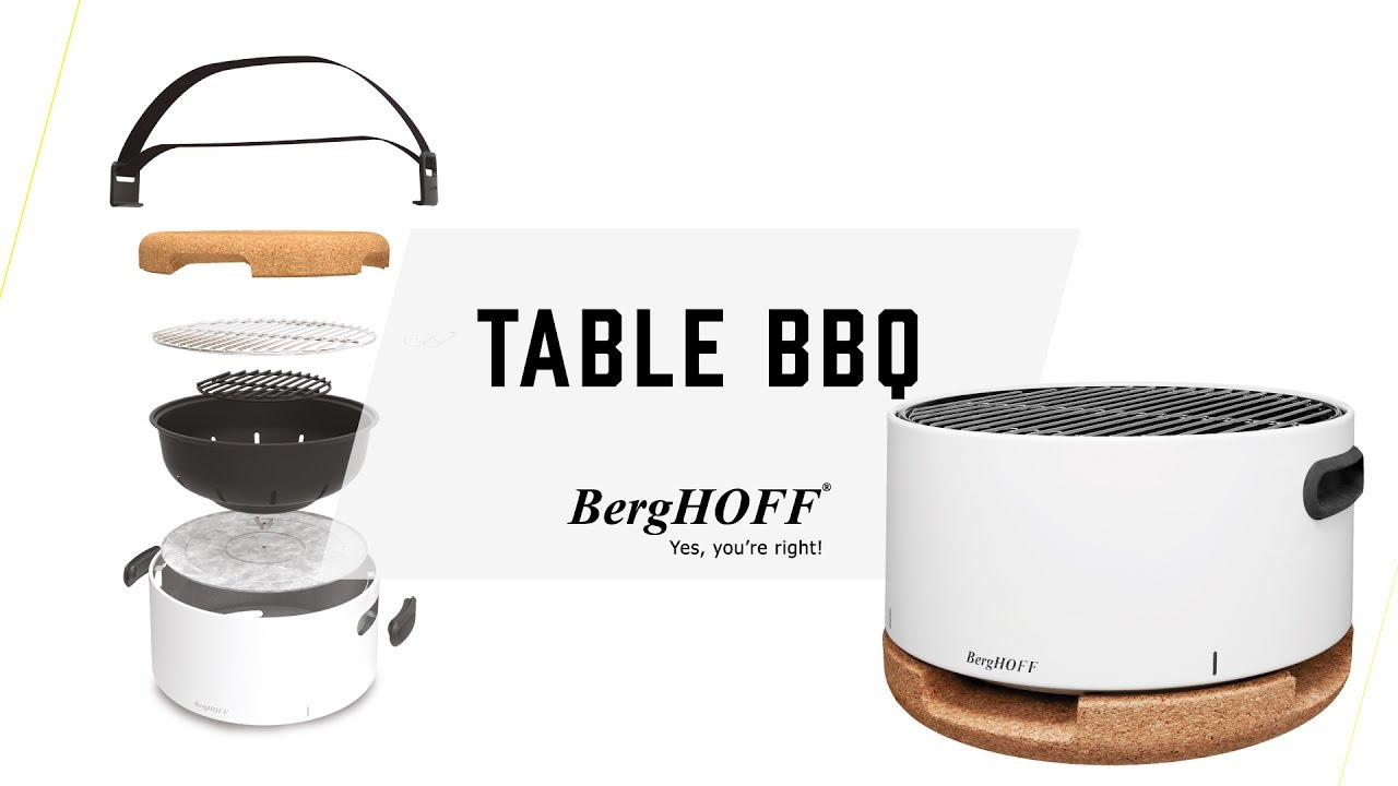 the berghoff table bbq youtube