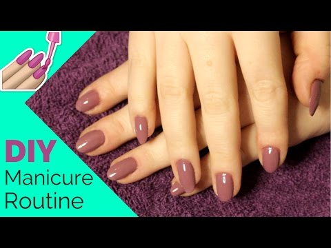 DIY Manicure Tutorial for Long Lasting Nail Polish