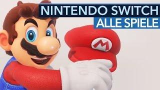 Alle Nintendo Switch Spiele - Wir zeigen das aktuelle Line-Up für 2017