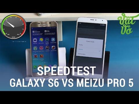 Vật Vờ| So sánh Meizu Pro 5 và Galaxy S6: Exynos 7420 hiệu năng có khác nhau?