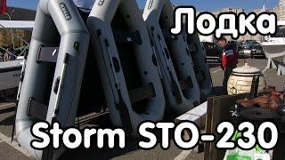 Надувная лодка Storm STO-230 (Чайка) - видео-обзор