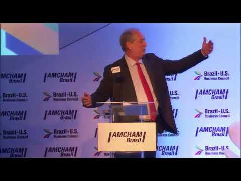 Ciro Gomes na Câmara Americana de Comércio [AMCHAM Brasil] (14/03/2018)